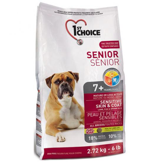 1st Choice Senior Sensitive Skin & Coat All Breeds