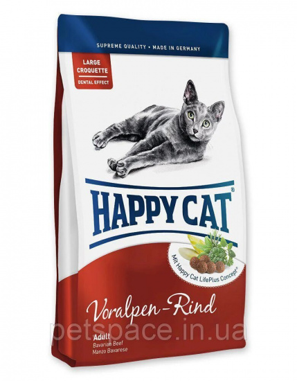 Happy Cat Adult Voralpen-Rind з яловичиною