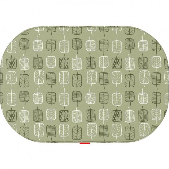 Чехол для лежанки Waudog Relax, рисунок Зеленые листья