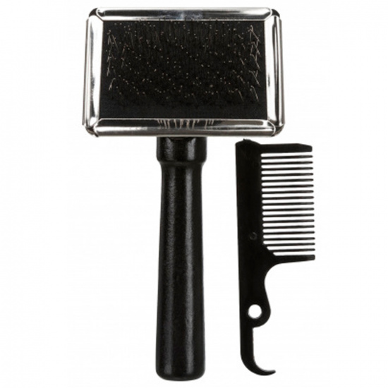 Trixie Soft Brush with wooden handle