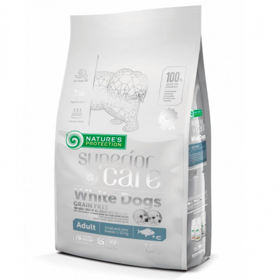 Natures Protection Superior Care White Dogs Grain Free White Fish Adult Large Breeds