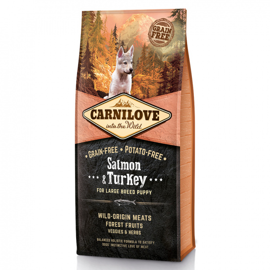 Carnilove Puppy Salmon & Turkey Large Breed