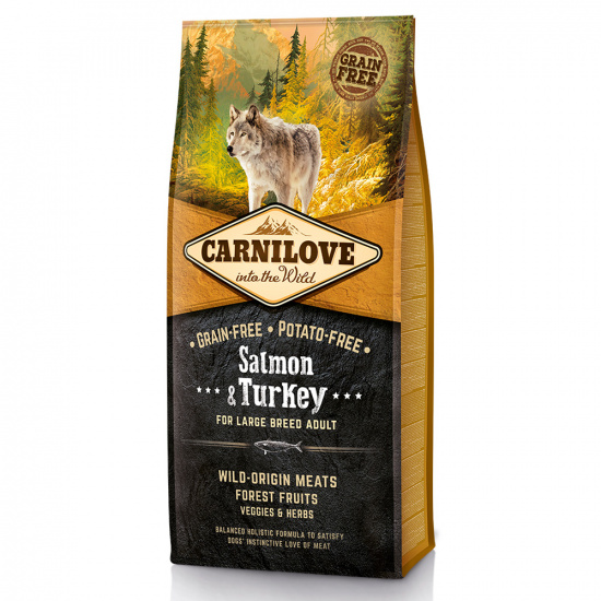 Carnilove Adult Dog Salmon & Turkey Large Breed