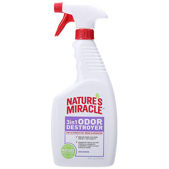 Natures Miracle 3in1 Odor Destroyer, без запаху