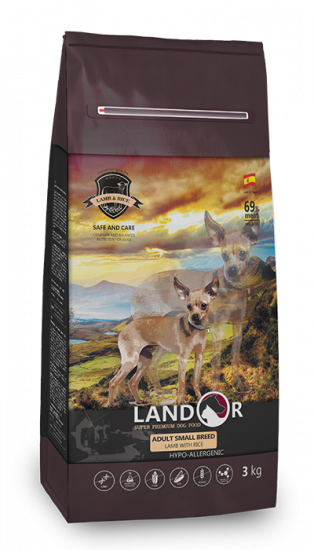 Landor Small Breed Lamb & Rice