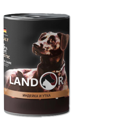 Landor Adult All Breed Turkey & Duck