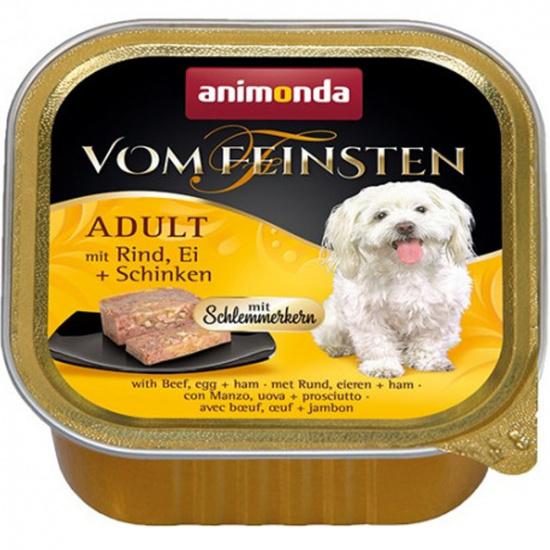 Animonda Vom Feinsten для собак, с говядиной, яйцом и ветчиной
