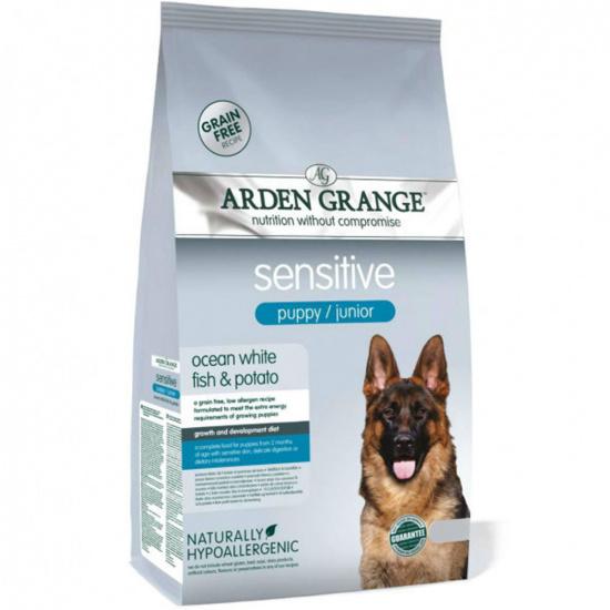 Arden Grange Sensitive Puppy/Junior Ocean White Fish & Potato