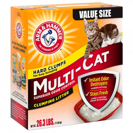 Arm and Hammer Multi Cat Clumping Litter Scented
