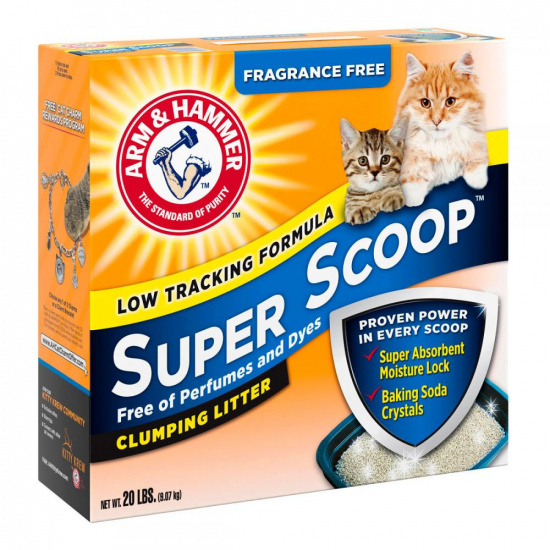 Arm and Hammer Super Scoop Cat Litter