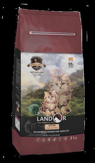 Landor Kitten Duck & Rice
