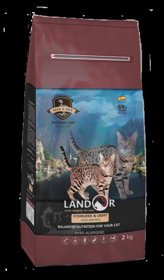 Landor Sterilized & Light Duck & Rice