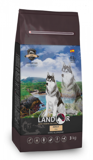 Landor Adult All Breed Fish & Rice