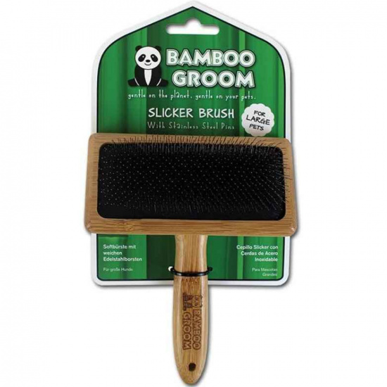 Bamboo Groom Slicker Brush