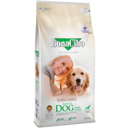 BonaCibo Adult Dog Lamb&Rice