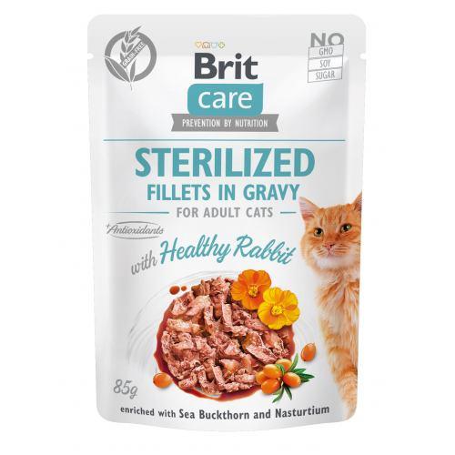 Brit Care Cat pouch 85g sterilized