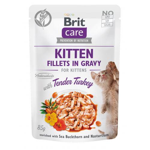 Brit Care Cat pouch 85g kitten turkey