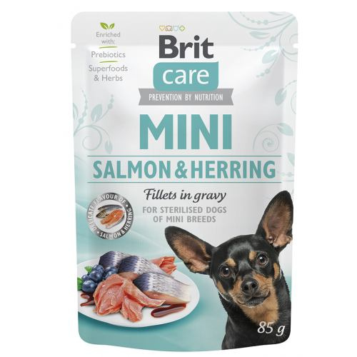 Brit Care mini sterilised salmon