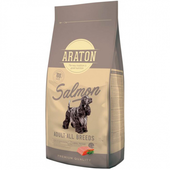 Araton Salmon Adult All Breeds for Dog