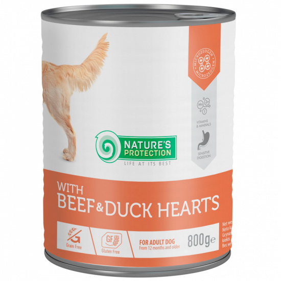 Nature's Protection with Beef & Duck Hearts