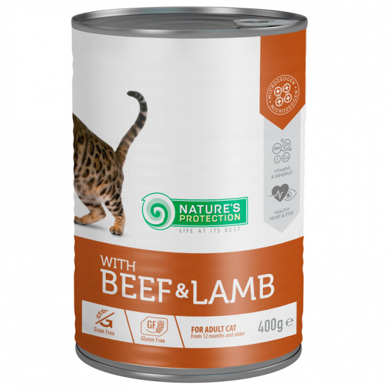 Nature's Protection with Beef & Lamb