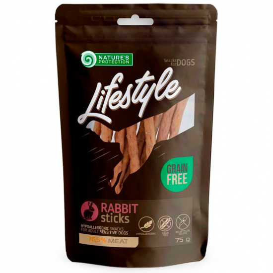 Nature's Protection Lifestyle snacks for dogs, rabbit sticks