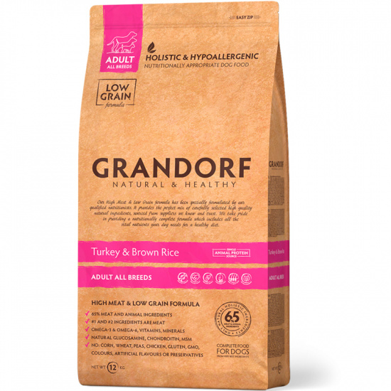 Grandorf Holistic Turkey and Brown Rice Mini