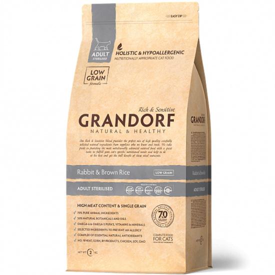 Grandorf Rabbit & Brown Rice Adult Sterilized