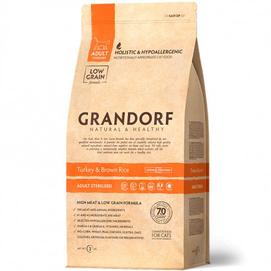 Grandorf Turkey and Brown Rice Adult Sterilized