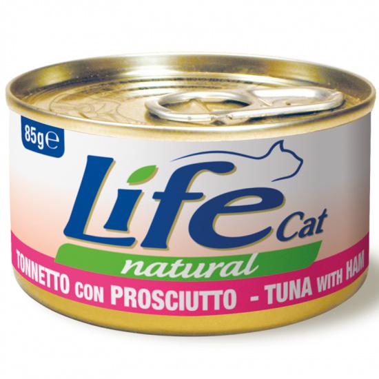Life Cat Natural Tuna with Ham