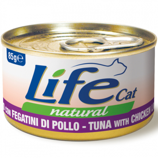Life Cat Natural Tuna with Chicken liver