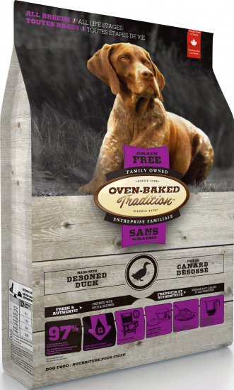 Oven-Baked Tradition Adult All breed Grain-free Duck
