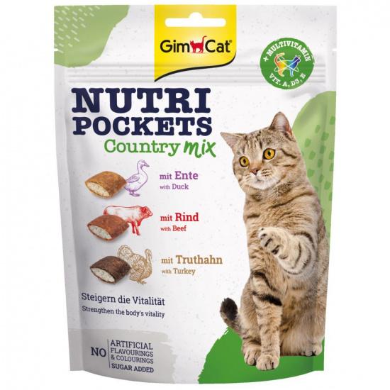 GimCat Nutri Pockets Country Mix