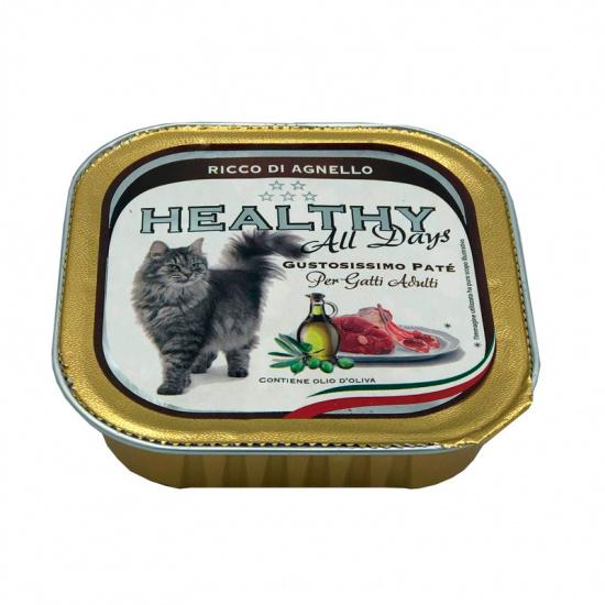 Healthy Alldays Cat Pate' Rich in Lamb
