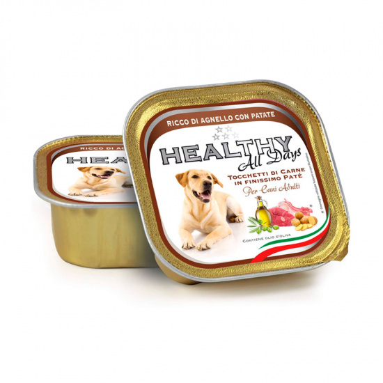 Healthy Alldays Dog Pate' Lamb with Potatoes
