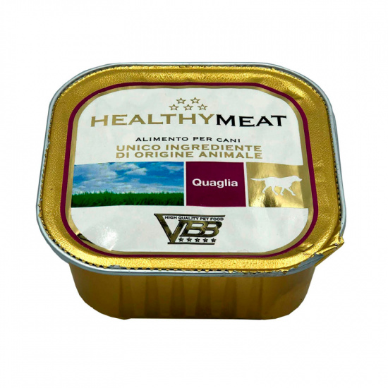 Healthy Meat Dog Pate' Quail