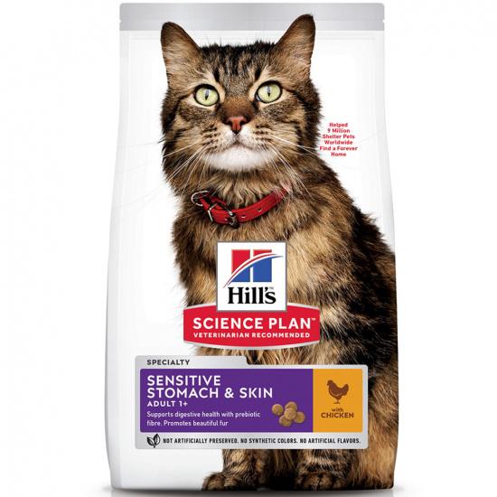 Hills SP Feline Adult Sensitive Stomach & Skin