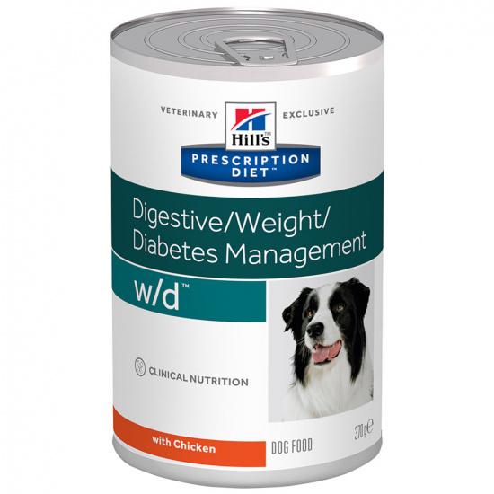 Hills Wet Prescription Diet Canine w/d