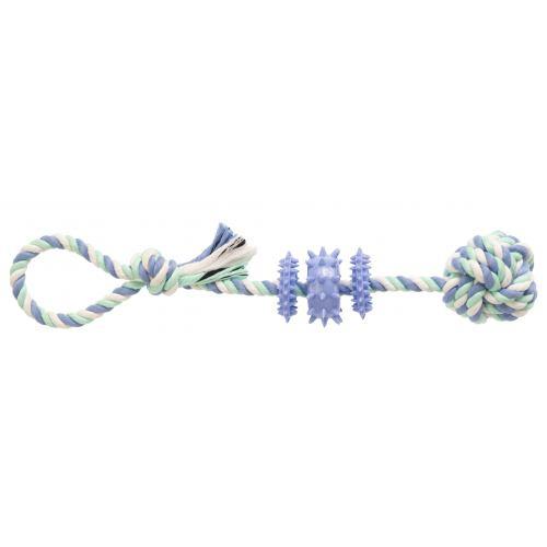 GimDog Дент Плюс веревка с термопластичной резиной, 39 см
