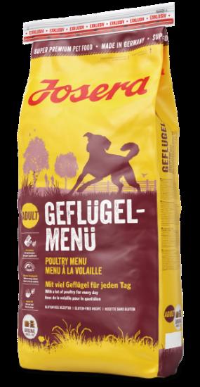 Josera Geflügel (Poultry) Menu