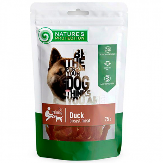 Nature's Protection snack for dogs duck breast meat