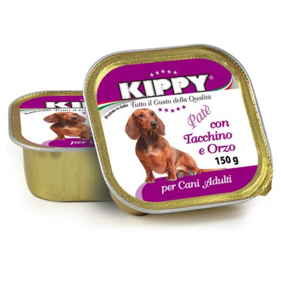 Kippy Паштет для собак, индейка и ячмень