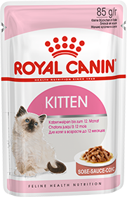Royal Canin Kitten Instinctive в соусі