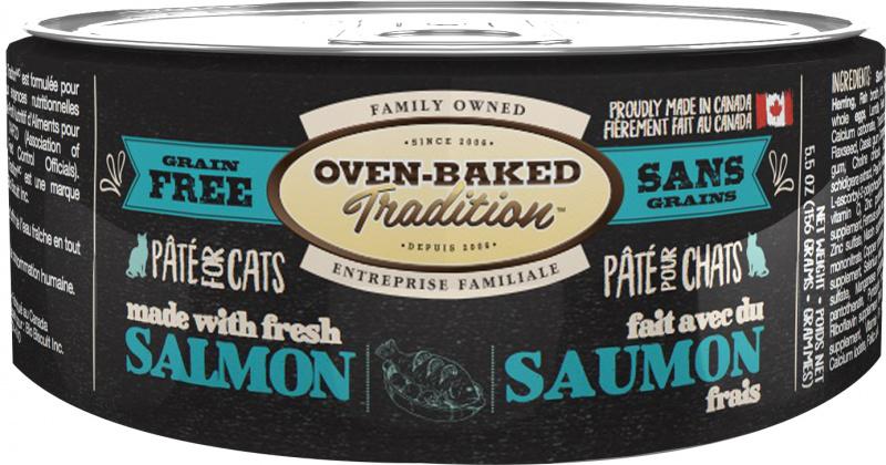 Oven-Baked Tradition влажный корм для кошек из свежего мяса лосося
