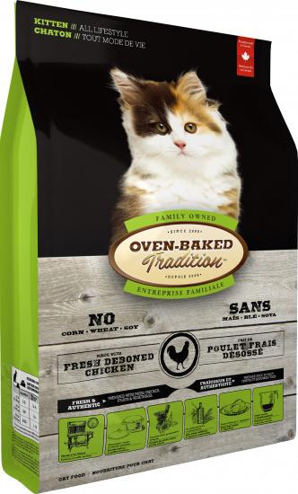 Oven-Baked Tradition Kitten Fresh Chicken