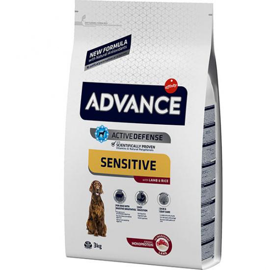 Advance Dog Sensitive Lamb & Rice