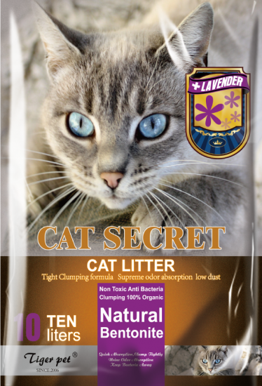 Бентонітовий наповнювач CAT SECRET Lavanda Scent