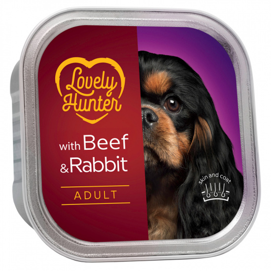 Lovely Hunter Adult Beef and Rabbit