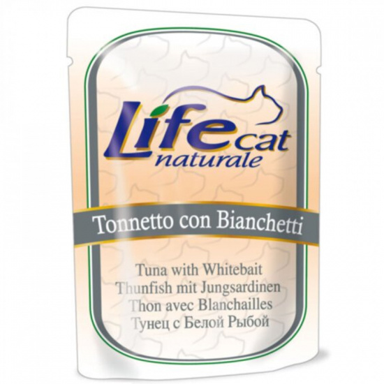 Life Cat Natural Tuna and White Fish Pouch