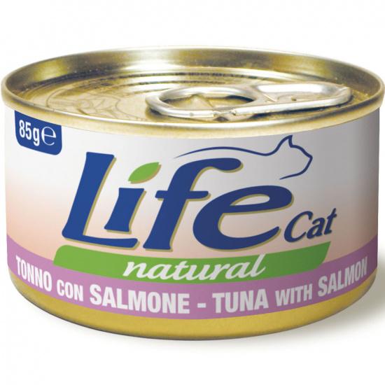Life Cat Natural Тунец с лососем